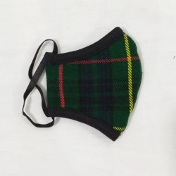 Wholesale Cheap Breathable Triple layer Hunting Stewart Tartan With Adjustable Ear Elastic Dust Proof , cotton face mask