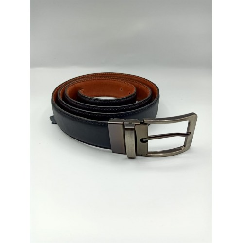 Men,s Genuine cowhide veg 100% Real Leather Belt with buckle