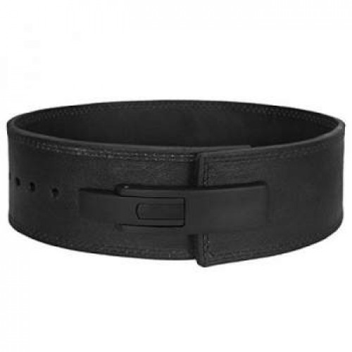 Leaver belt  power belt with dhul black buckle